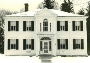 The Botsford House, our original home.