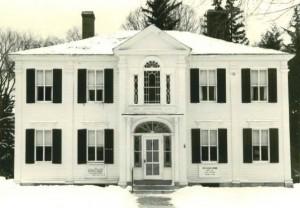 The Botsford House, our original home.