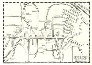A Walk Along Main Street-Pg4 Map, 1993