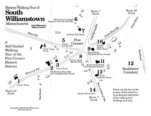 South Williamstown Walking Tour Map
