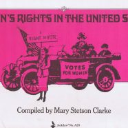 Summer of Woman Suffrage!  Week 5