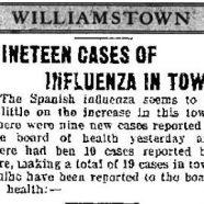 The 1918 Flu Pandemic Strikes Williamstown